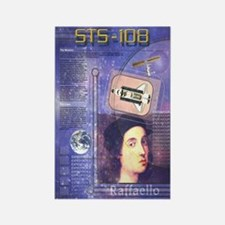 STS 108 Shuttle Mission Poster Rectangle Magnet