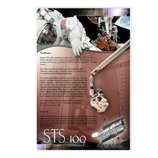 STS 109 Shuttle Mission Poster Postcards (Package
