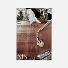 STS 109 Shuttle Mission Poster Rectangle Magnet