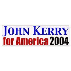 John Kerry for America Bumper Bumper Sticker