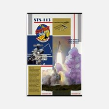 STS 113 Shuttle Mission Poster Rectangle Magnet