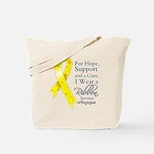 Sarcoma Ribbon Tote Bag