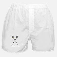 Lacrosse Player Customized Boxer Shorts