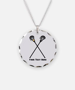 Lacrosse Player Customized Necklace
