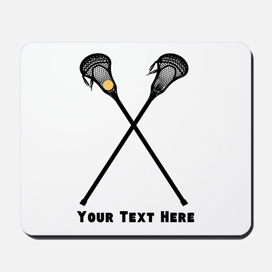Lacrosse Player Customized Mousepad