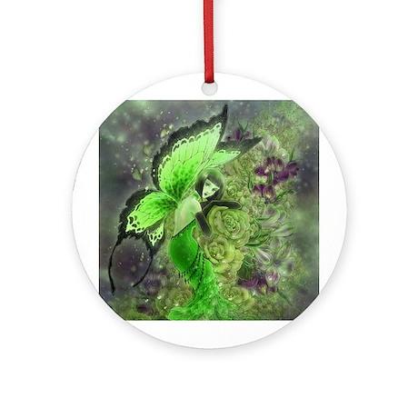 Absinthe Fairy Ornament (Round)