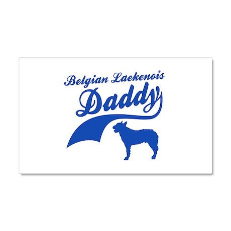Belgian Laekenois Daddy Car Magnet 20 x 12