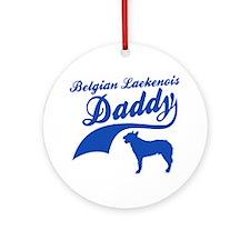 Belgian Laekenois Daddy Ornament (Round)