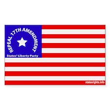 Sticker Repeal 17th Amendment