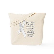 Mesothelioma Ribbon Tote Bag