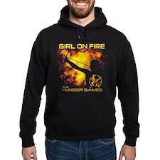Girl on Fire Hoodie