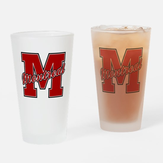 Montreal Letter Drinking Glass