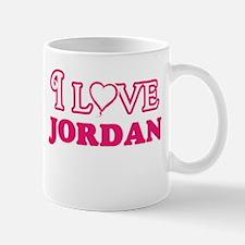 I Love Jordan Mugs