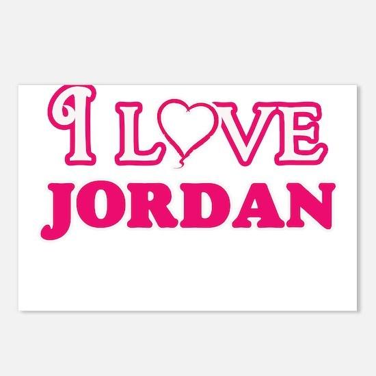I Love Jordan Postcards (Package of 8)