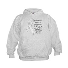 Lung Cancer Ribbon Hoody