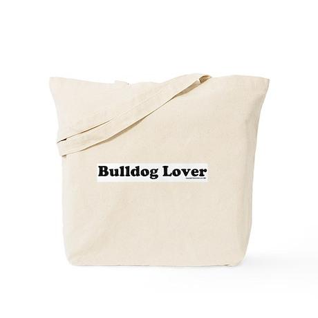Bulldog Lover Logo Blk/Tote Bag