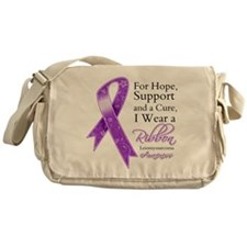 Leiomyosarcoma Ribbon Messenger Bag