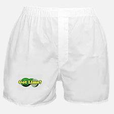 Got Lime? Boxer Shorts