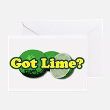 Got Lime? Greeting Cards (Pk of 10)