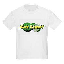 Got Lime? Kids T-Shirt