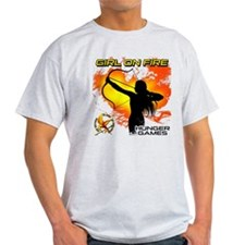 Girl on Fire 2 T-Shirt