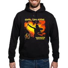 Girl on Fire 2 Hoodie
