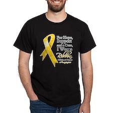 Childhood Cancer Ribbon T-Shirt