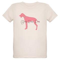 Diamonds Great Dane Diva T-Shirt