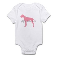 Diamonds Great Dane Diva Infant Bodysuit