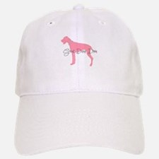 Diamonds Great Dane Diva Baseball Baseball Cap