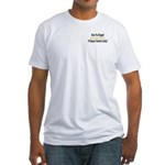 Hugged P. Chemist Fitted T-Shirt