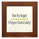 Hugged P. Chemist Framed Tile