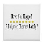 Hugged P. Chemist Tile Coaster