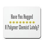 Hugged P. Chemist Mousepad