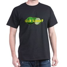 Got Lime? Black T-Shirt