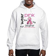 I Wear Pink 43 Breast Cancer Hoodie