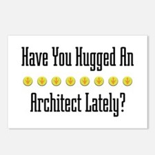 Hugged Architect Postcards (Package of 8)