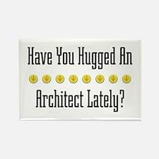 Hugged Architect Rectangle Magnet
