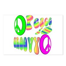 Peace IS Groovy! Postcards (Package of 8)
