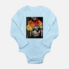 Dia de los Muertos Long Sleeve Infant Bodysuit