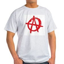 Anarchy Ash Grey T-Shirt