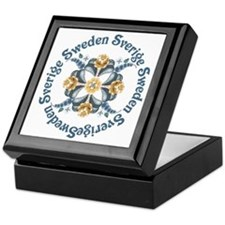Cute Sweden Keepsake Box