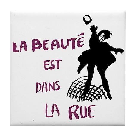 Paris '68 Tile Coaster