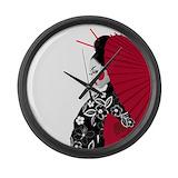 Geisha Wall Clocks