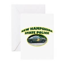 New Hampshire State Police Greeting Cards (Pk of 2