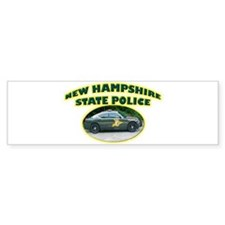 New Hampshire State Police Bumper Sticker