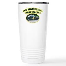 New Hampshire State Police Ceramic Travel Mug