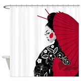 Japanese Shower Curtains
