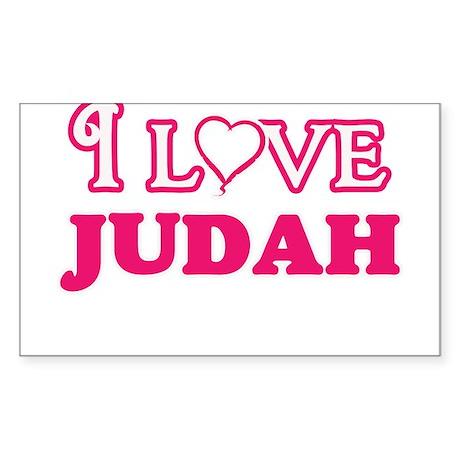 I Love Judah Sticker
