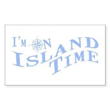 Island Time Decal